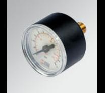 Metalwork manometer staal 40mm 1/8'' achter aansluiting 0-16 bar