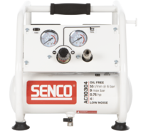 Senco AC10304 geluidsarme 9 bar compressor