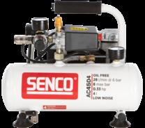 Senco AC4504 geluidsarme 8 bar compressor
